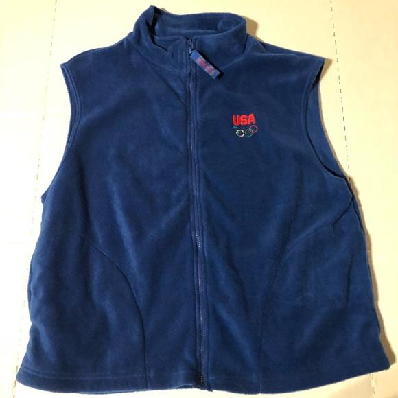 6a9d7dddd5 Team USA Olympics Vest Men s XL. M 5be38abb0cb5aaa10218ab75